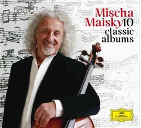 10 CLASSIC ALBUMS BY MAISKY,MISCHA (CD)